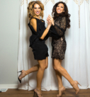 Amy and Nicole Jump - Newtown Cosmetic Dentist Nicole M Armour, DMD - Make Your Smile Glo Event