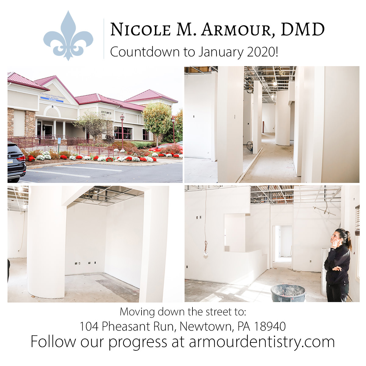 We're moving to a new location! - Armour Dentistry of Newtown